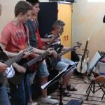 clases de guitarra en escuela de música de Zaragoza