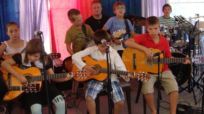clases de guitarra en academia de música de Zaragoza