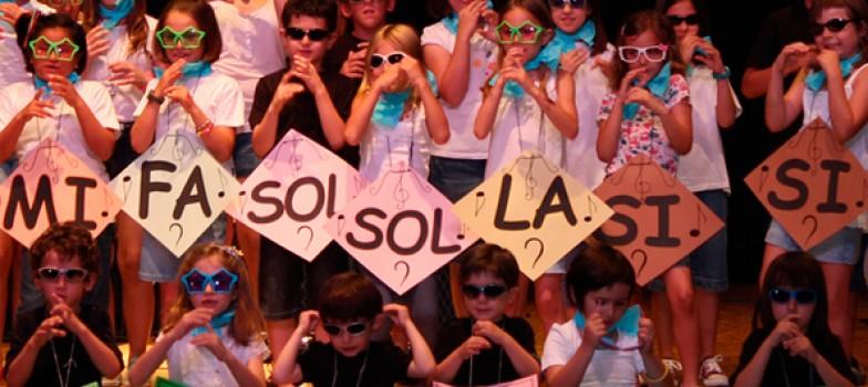 lenguaje musical en escuela de música de Zaragoza